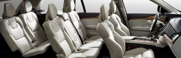 7 seater car interior