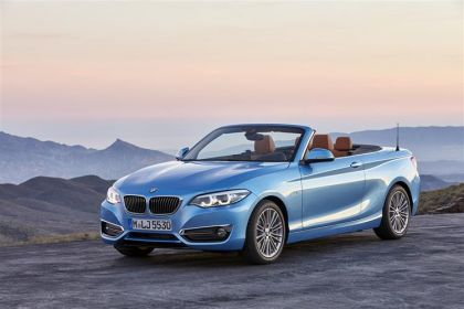 BMW 2 Series Convertible 220 Convertible 2.0 d 190PS M Sport 2Dr Auto [Start Stop]