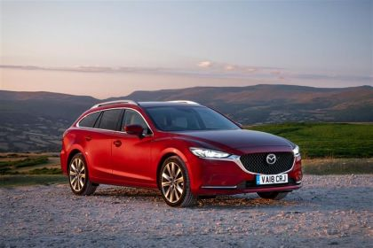 Mazda Mazda6 Estate Tourer 2.0 SKYACTIV-G 165PS Sport 5Dr Manual [Start Stop]