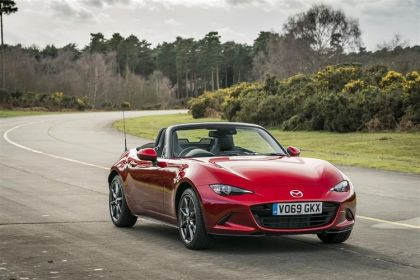 Mazda MX-5 Convertible Convertible 2.0 SKYACTIV-G 184PS Sport Tech 2Dr Manual [Start Stop]