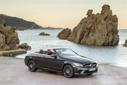 Mercedes-Benz C Class Convertible AMG C43 Cabriolet 4MATIC 3.0 V6 390PS Night Edition Premium Plus 2Dr G-Tronic+ [Start Stop]