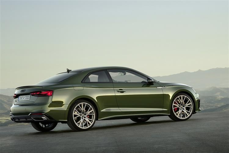 Audi A5 35 Coupe 2Dr 2.0 TDI 163PS S line 2Dr S Tronic [Start Stop]