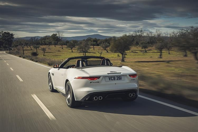 Jaguar F-TYPE Convertible 2.0 i 300PS R-Dynamic 2Dr Auto [Start Stop]
