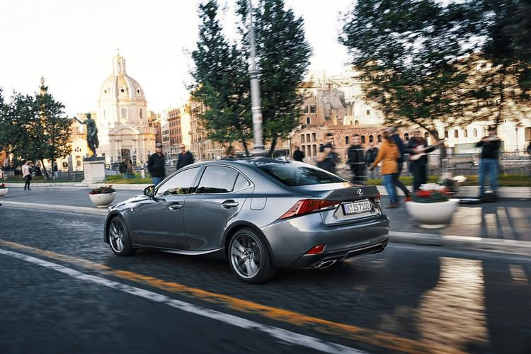 Lexus IS 300 Saloon 2.5 h 223PS IS 4Dr E-CVT [Start Stop] [Sport]