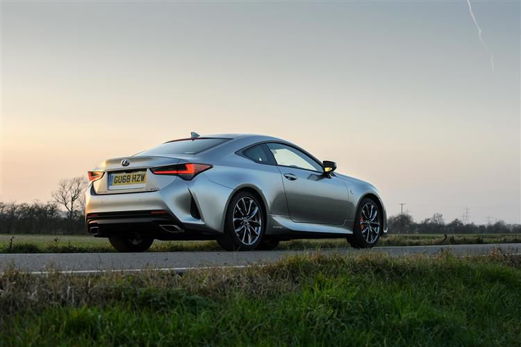 Lexus RC 300h Coupe 2.5 h 223PS F-Sport 2Dr E-CVT [Start Stop] [Takumi]