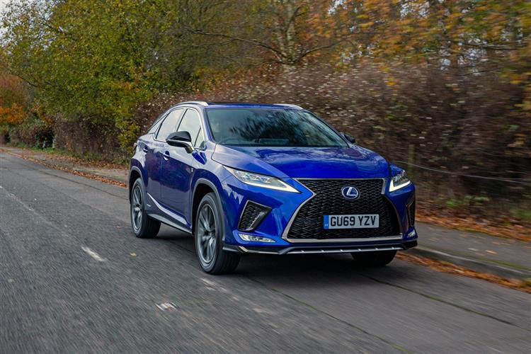 Lexus RX 450h L SUV 4wd 3.5 h V6 313PS RX L Prem 5Dr E-CVT [Start Stop] [Tech Safety]