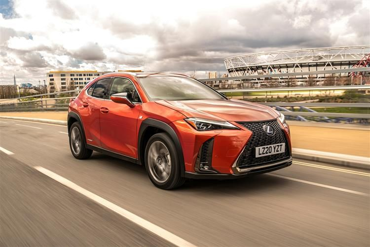 Lexus UX 250h SUV 4wd 2.0 h 184PS UX 5Dr E-CVT [Start Stop] [Prem Plus SRoof]