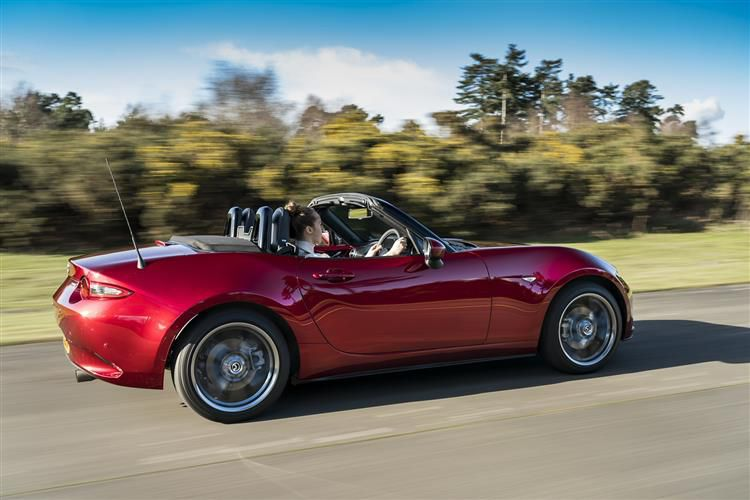 Mazda MX-5 Convertible 1.5 SKYACTIV-G 132PS SE-L 2Dr Manual [Start Stop]